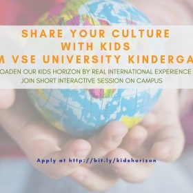 Share your culture with kids from VSE university kindergarten